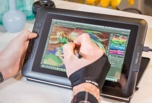 Graphics Tablet with Screen
