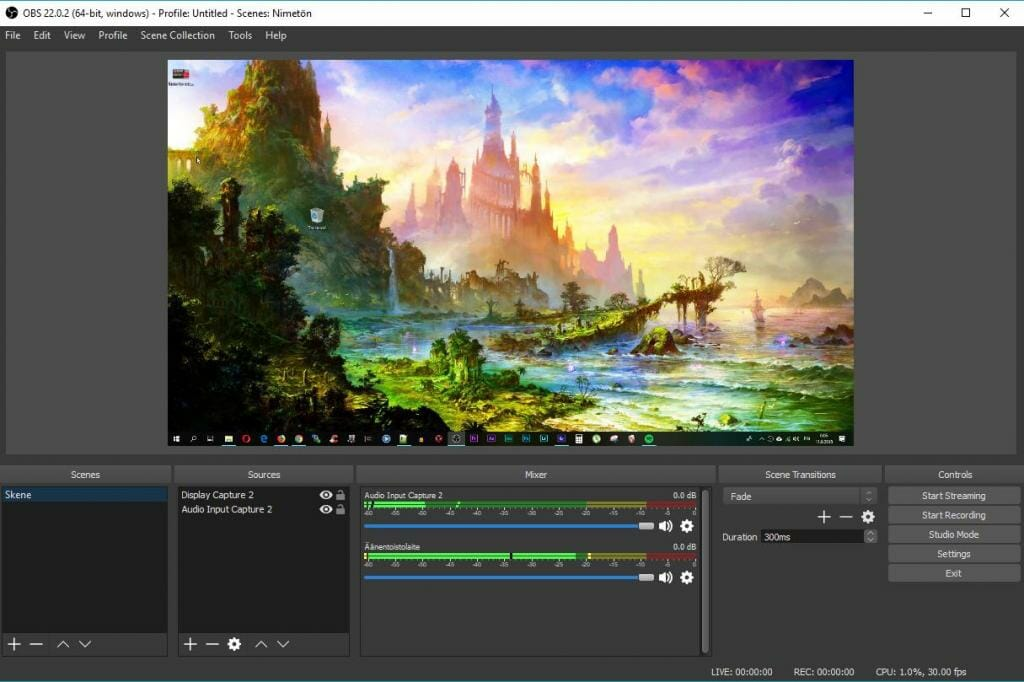 OBS best screen recording software