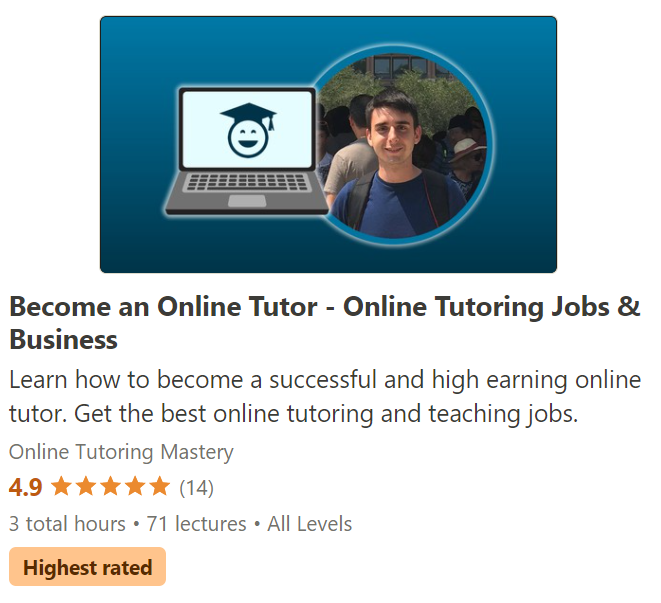 Online Tutoring Course Header Square